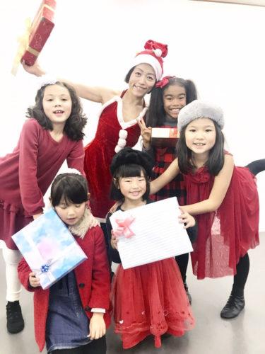キヨフジダンス&ヨガスタジオ クリスマス会 ジャズダンス