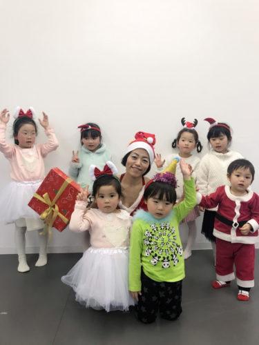 キヨフジダンス&ヨガスタジオ クリスマス会 キッズバレエ